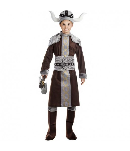 Déguisement Viking sauvage garçon