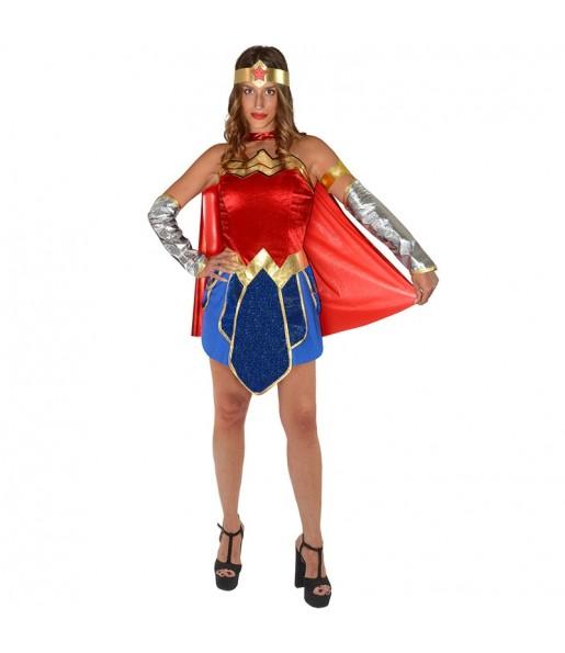 Déguisement Wonder Woman Classic femme