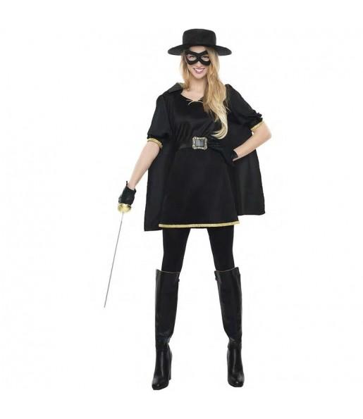 Déguisement Zorro masqué femme