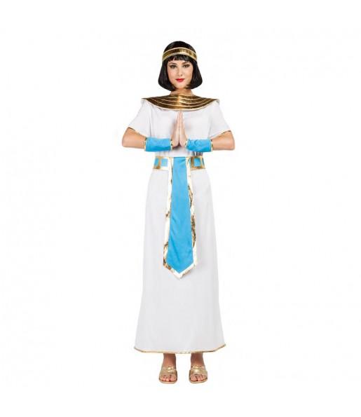 Déguisement Égyptienne bleue pour femme
