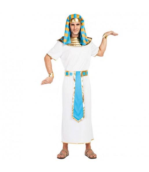 Déguisement Égyptien bleu pour homme
