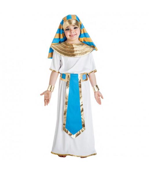Déguisement Égyptien bleu pour garçon