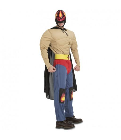 Déguisement Catcheur Mexicain Rey Mysterio pour homme