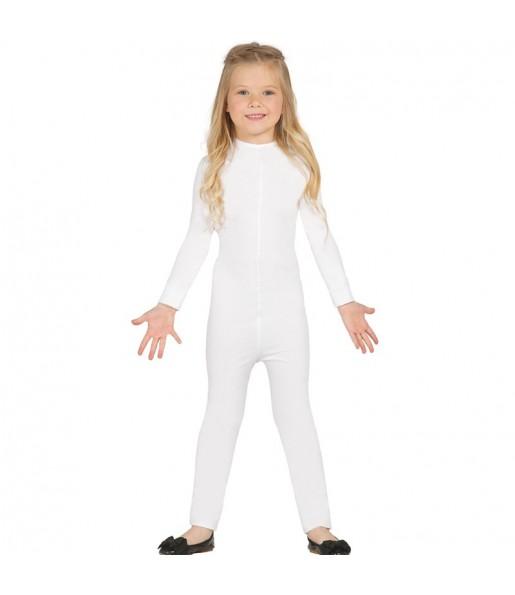 Déguisement Justeaucorps Blanc Spandex Enfant