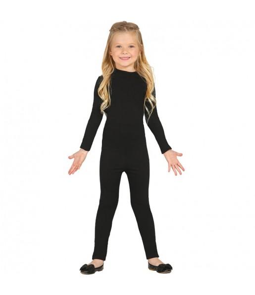 Déguisement Justeaucorps Noir Spandex Enfant