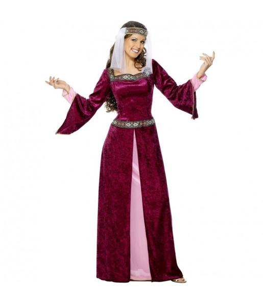 Déguisement Princesse Médiévale Lady Marian femme
