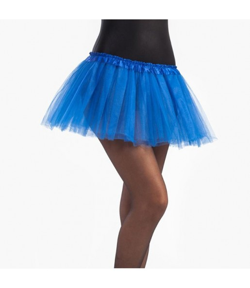 Falda tutú azul niña