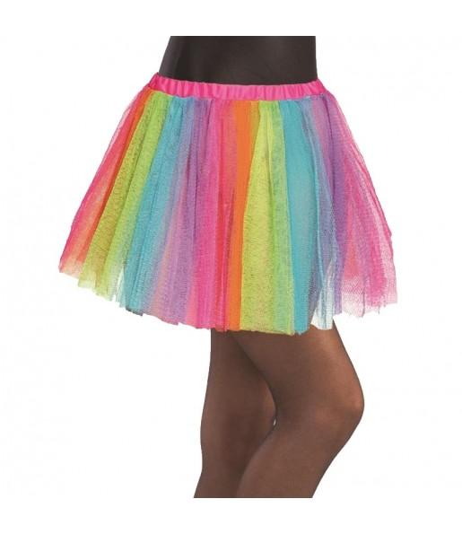 Jupe tutu Multicolore fille