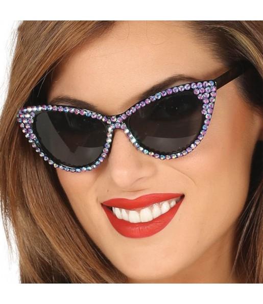 Lunettes Disco avec brillants