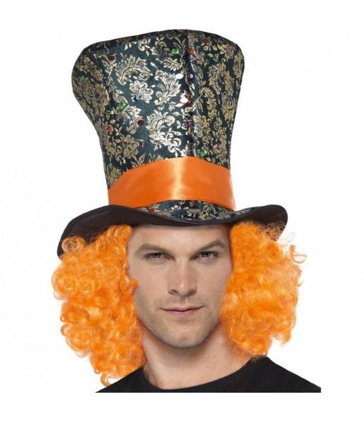 Chapeau Chapelier Fou avec perruque