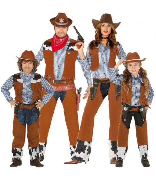 Groupe Cowboys Western