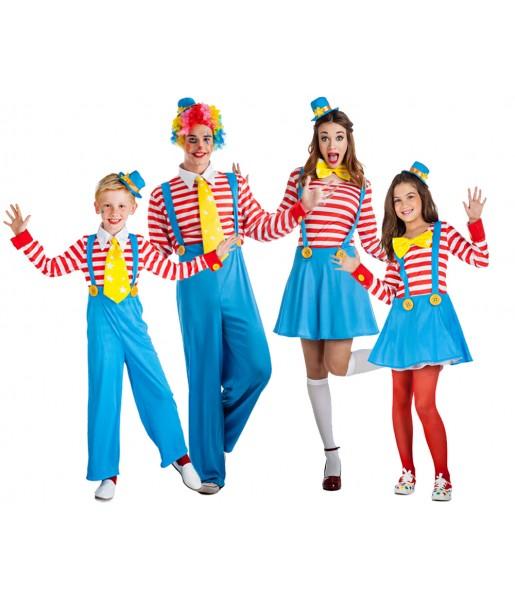 Groupe Clowns avec bretelles