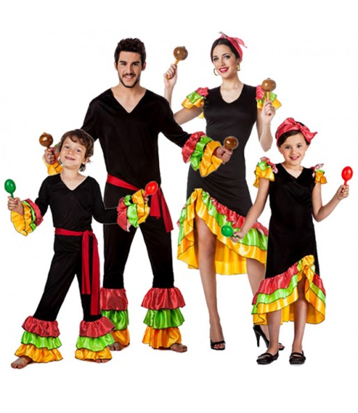 Groupe Danseurs Rumba Salsa