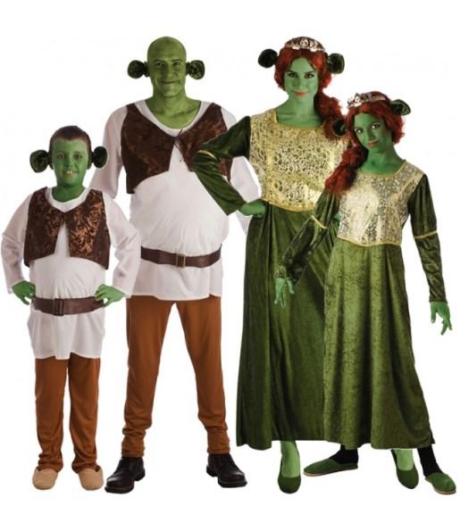 Groupe Famille Shrek
