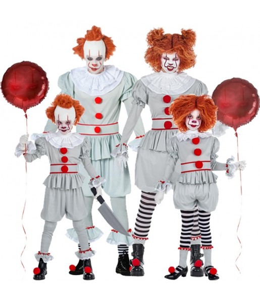 Groupe Clowns It Pennywise
