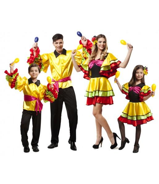 Groupe Danseurs Rumba Brésil