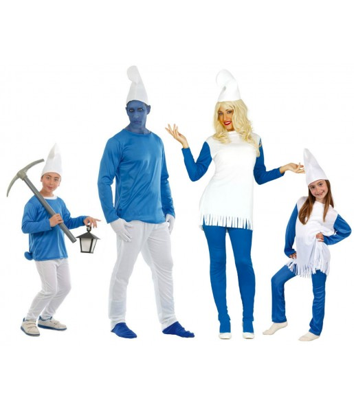 Groupe Famille Schtroumpf