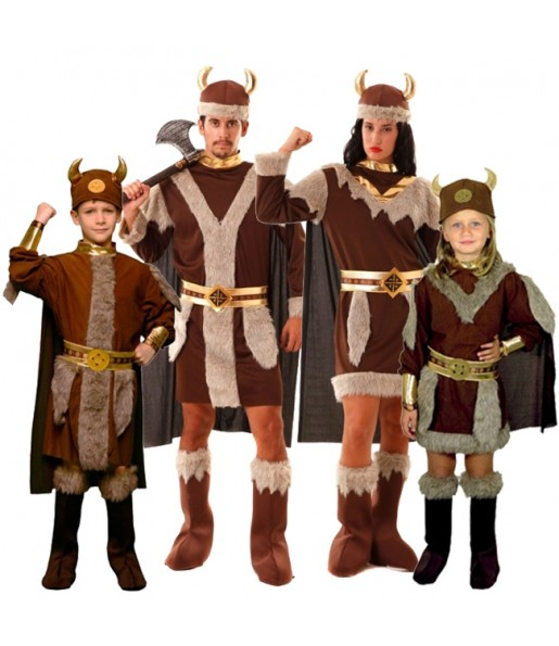 Groupe Costumes Vikings