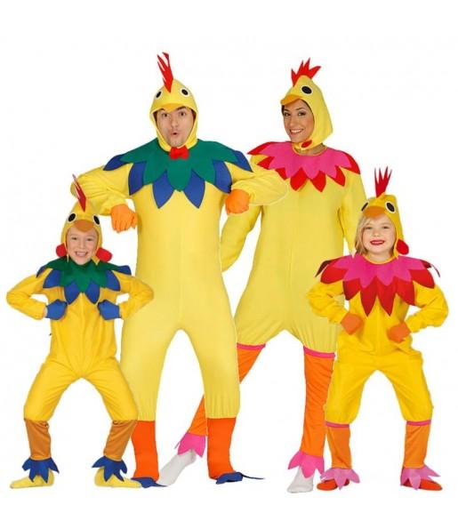 Groupe Volaille Multicolore
