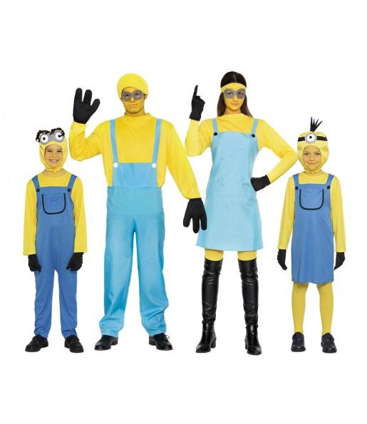 Groupe Famille Minion