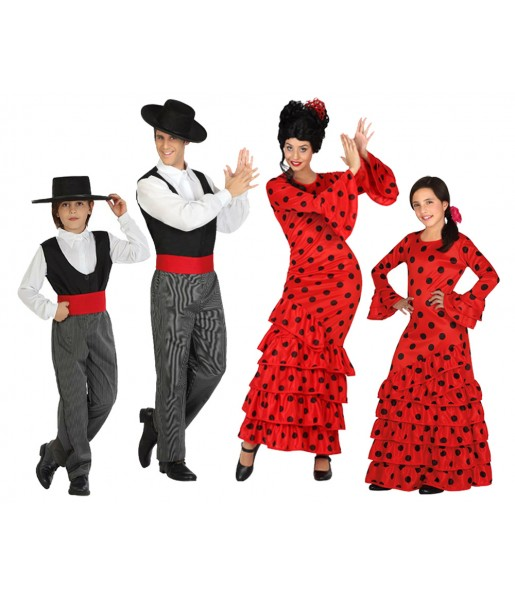 Groupe Flamenco Rouges