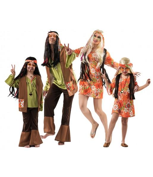 Déguisements Hippies Marrons