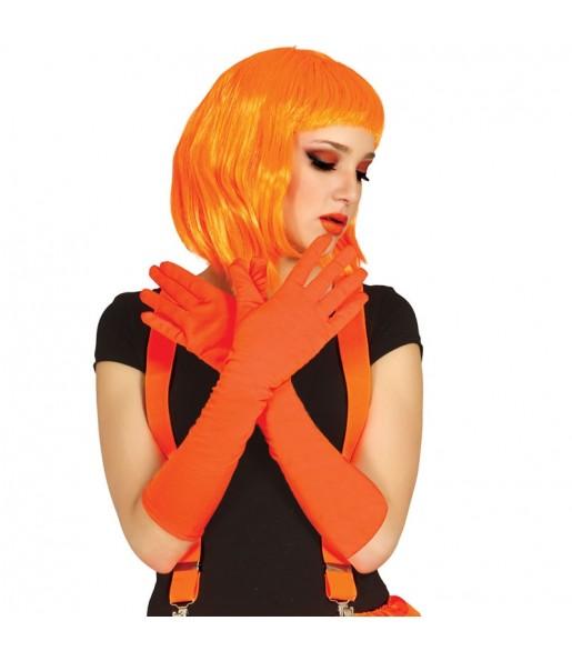 Gants Longs Orange