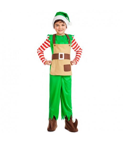 Déguisement Elfe Noël pour garçon