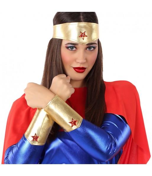 Kit accessoires costume Wonder Woman