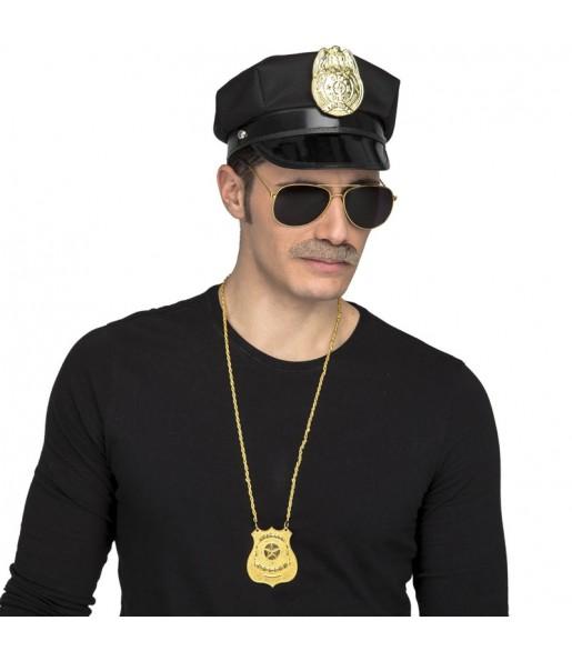 Kit costume Agent Police