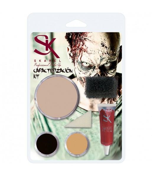 Kit Maquillage Zombie Halloween