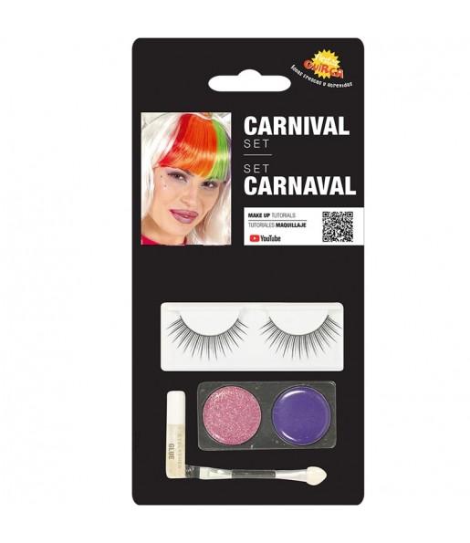 Kit maquillage avec sourcils