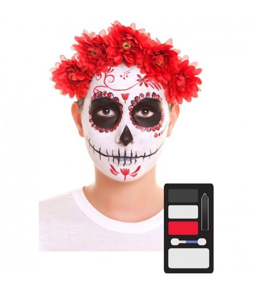 Kit Maquillage de Catrina Halloween
