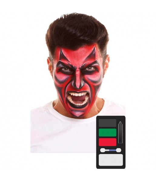 Palette Maquillage Diable Halloween