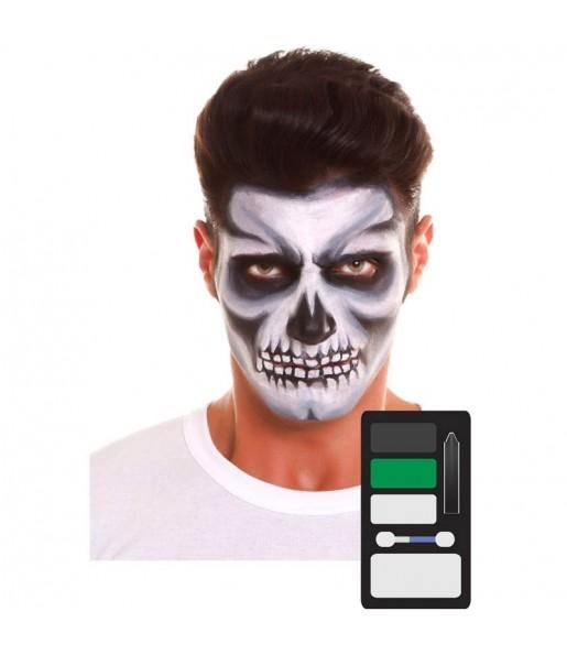 Palette Maquillage Squelette Halloween