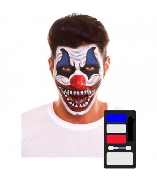 palette maquillage Clown Halloween