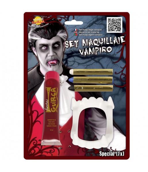 Kit maquillage Vampire avec sang