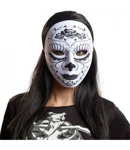 Masque Catrina mexicaine