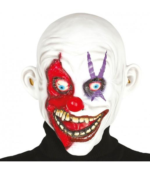 Masque Clown dément en latex