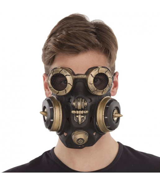 Masque Steampunk Anti-gaz