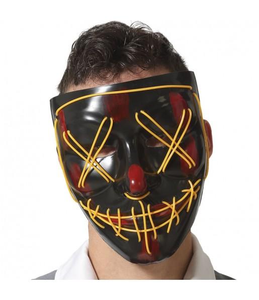 Masque The Purge Maniaque avec lumière