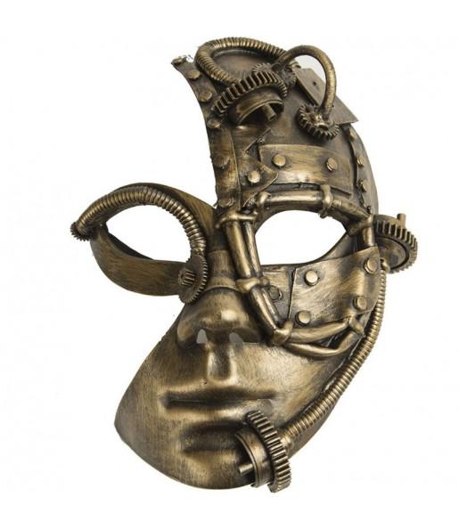 Masque Steampunk mi-visage