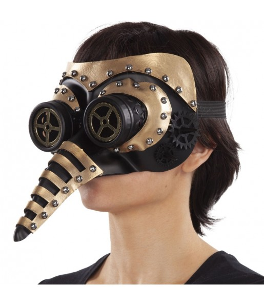 Masque Steampunk avec nez