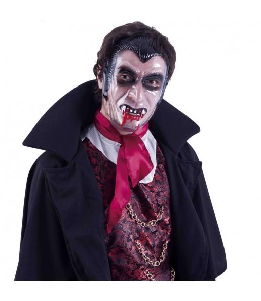 Masque Vampire visage transparent