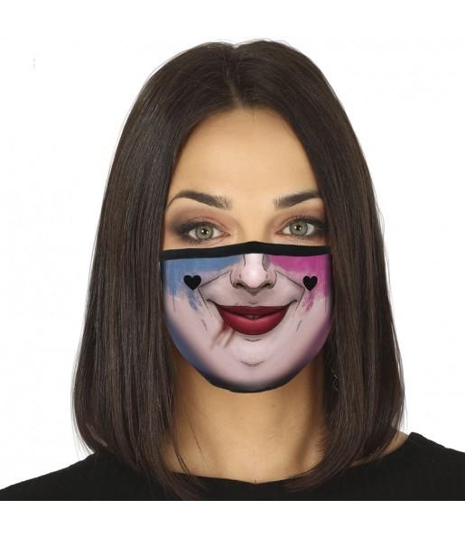 Masque de protection Harley Quinn pour adultes