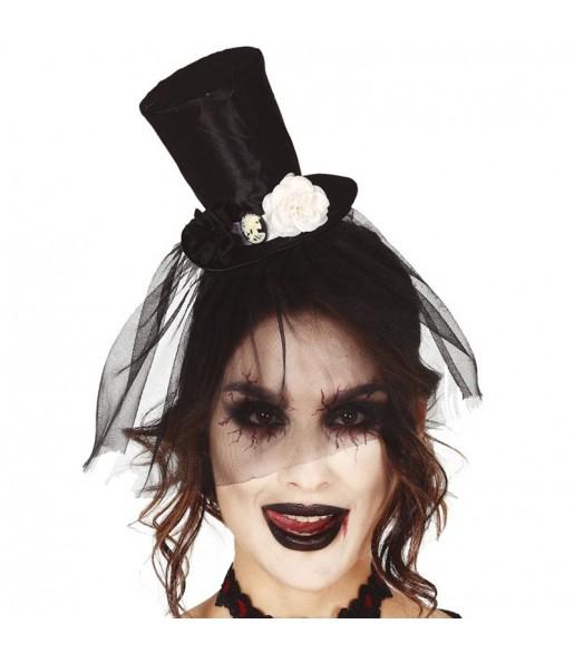 Mini Chapeau Halloween avec voile