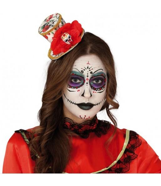 Mini Chapeau Catrina Mexicaine