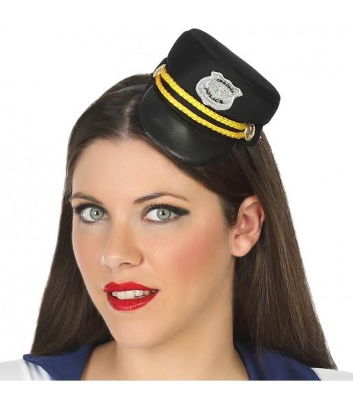 Mini chapeau Policier