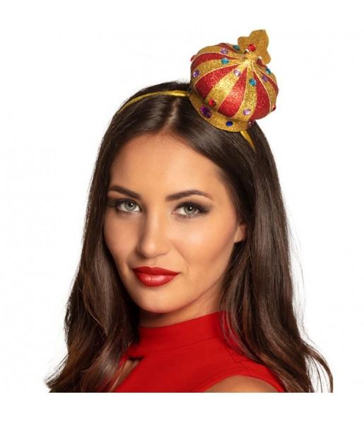 Mini Chapeau Reine de Cœur
