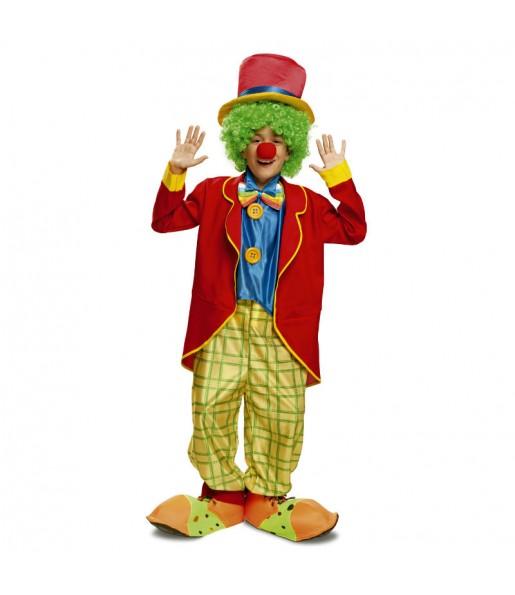 Déguisement Clown Couleurs Garçon